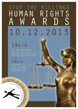 Affiche Human Rights Awards