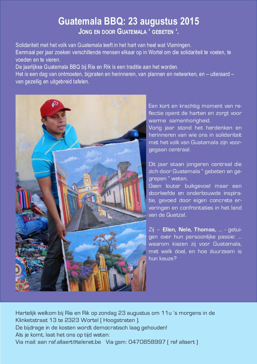 WORTEL-uitnodiging 2015